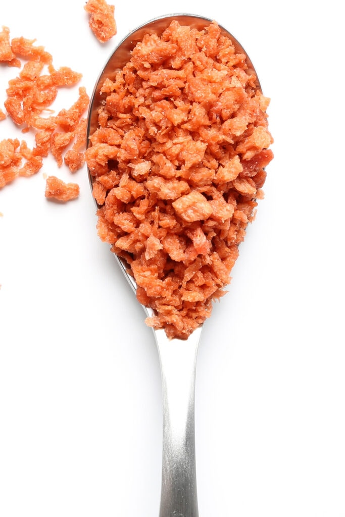 Spoon of Bacon Bits