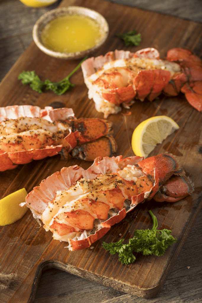 Baked Lobsters