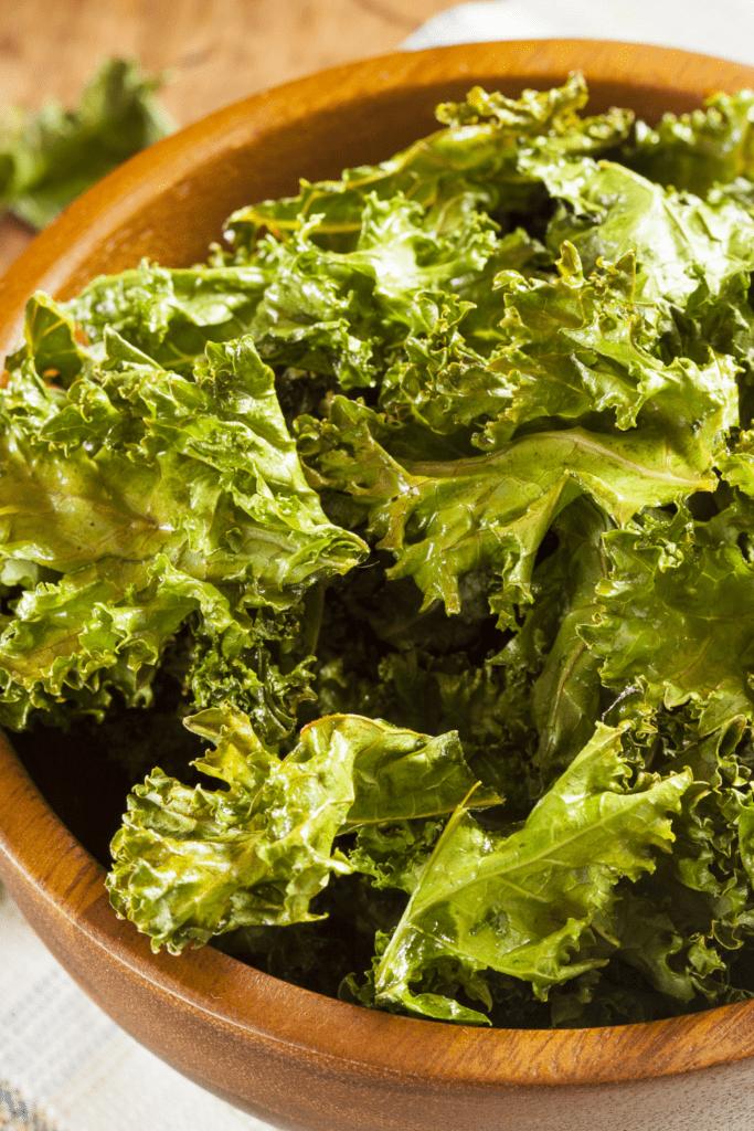 Bowl of Kale Chips