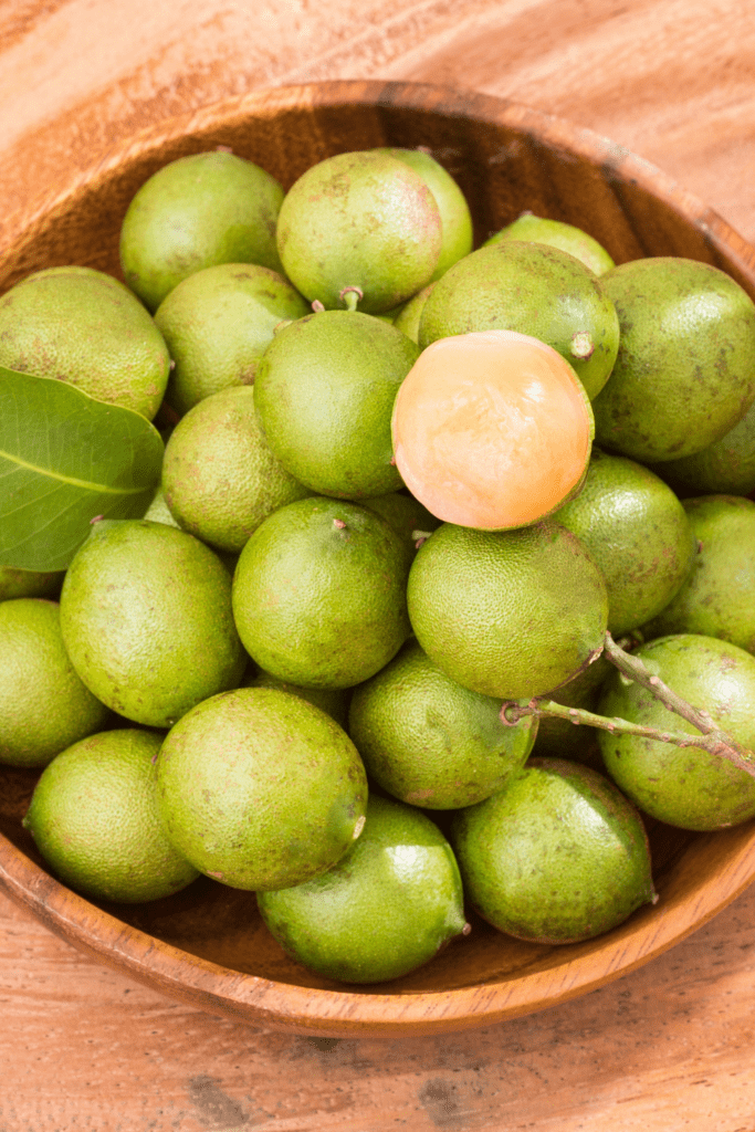 Bowl of Quenepa Fruits