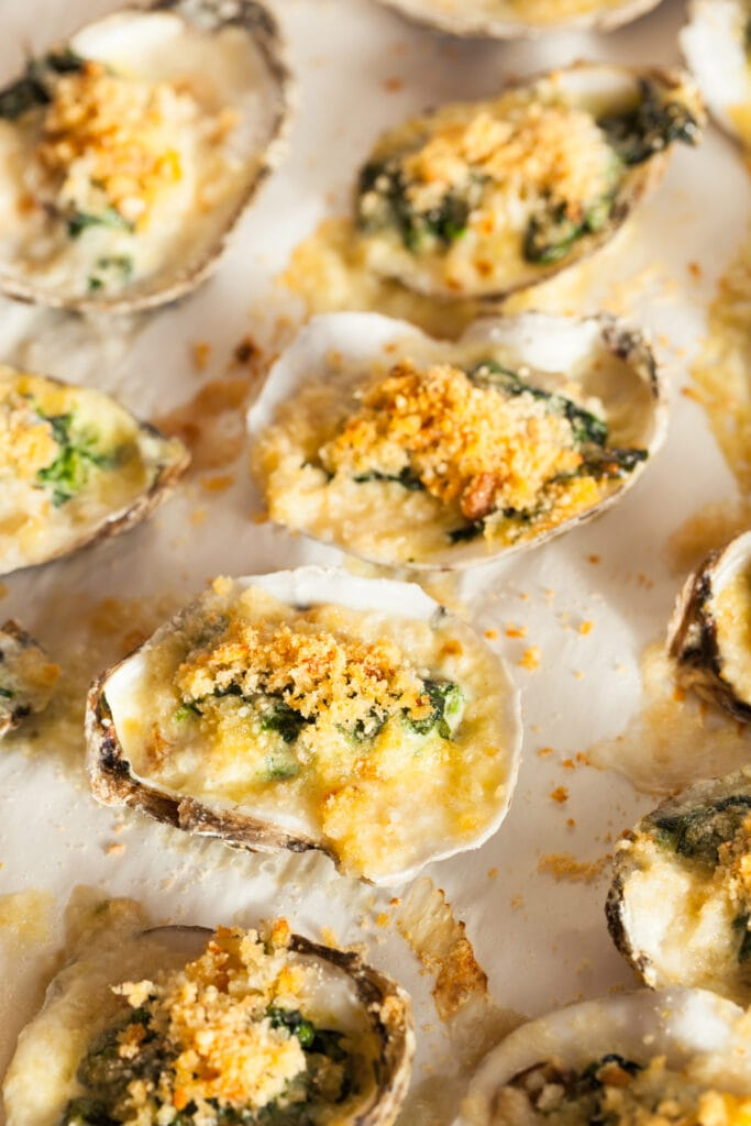 Buttered Oysters