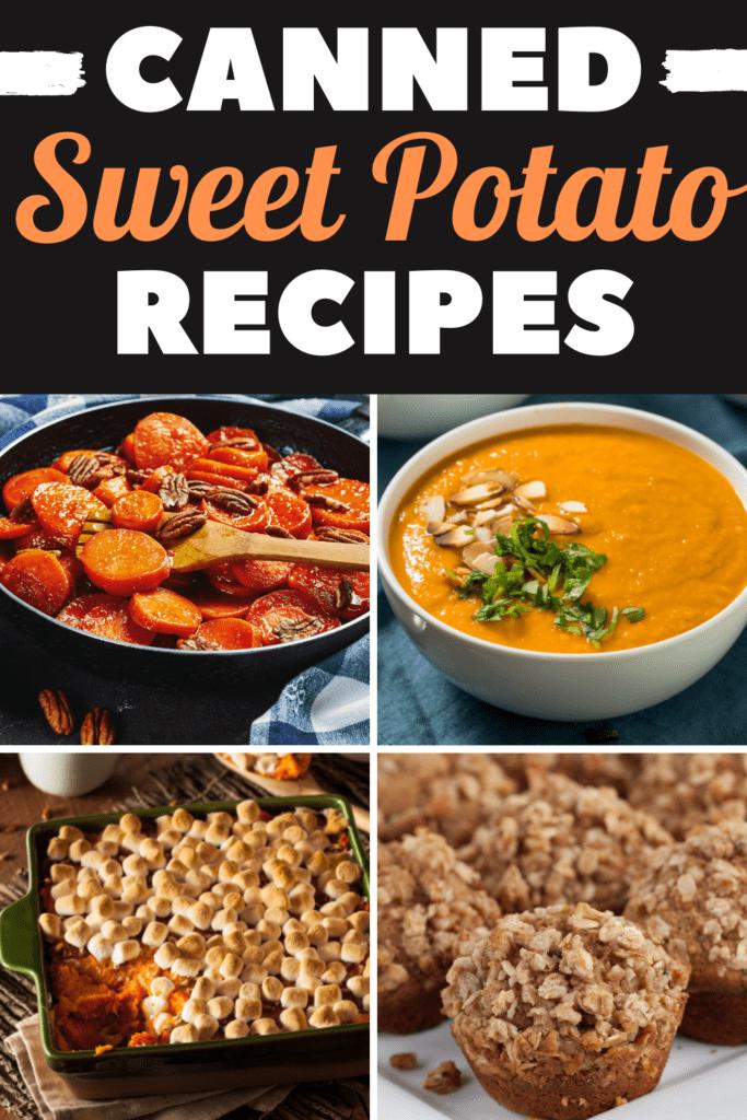 Canned Sweet Potato Recipes