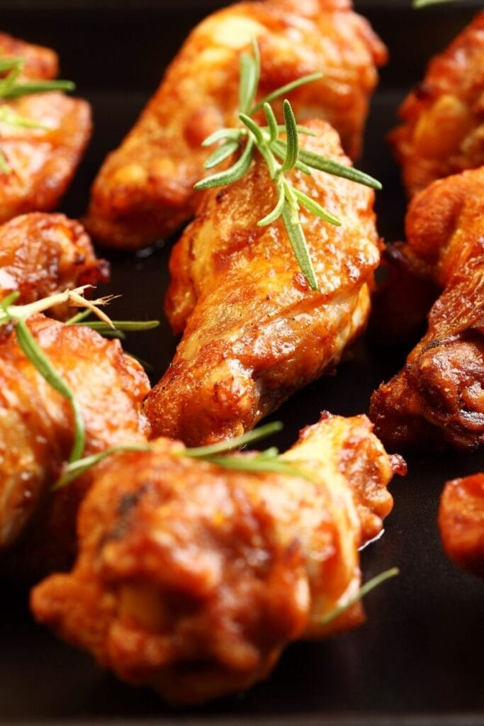 Chicken Wings on Baking Tray
