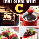 Desserts That Start With C