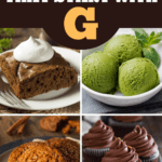Desserts That Start With G