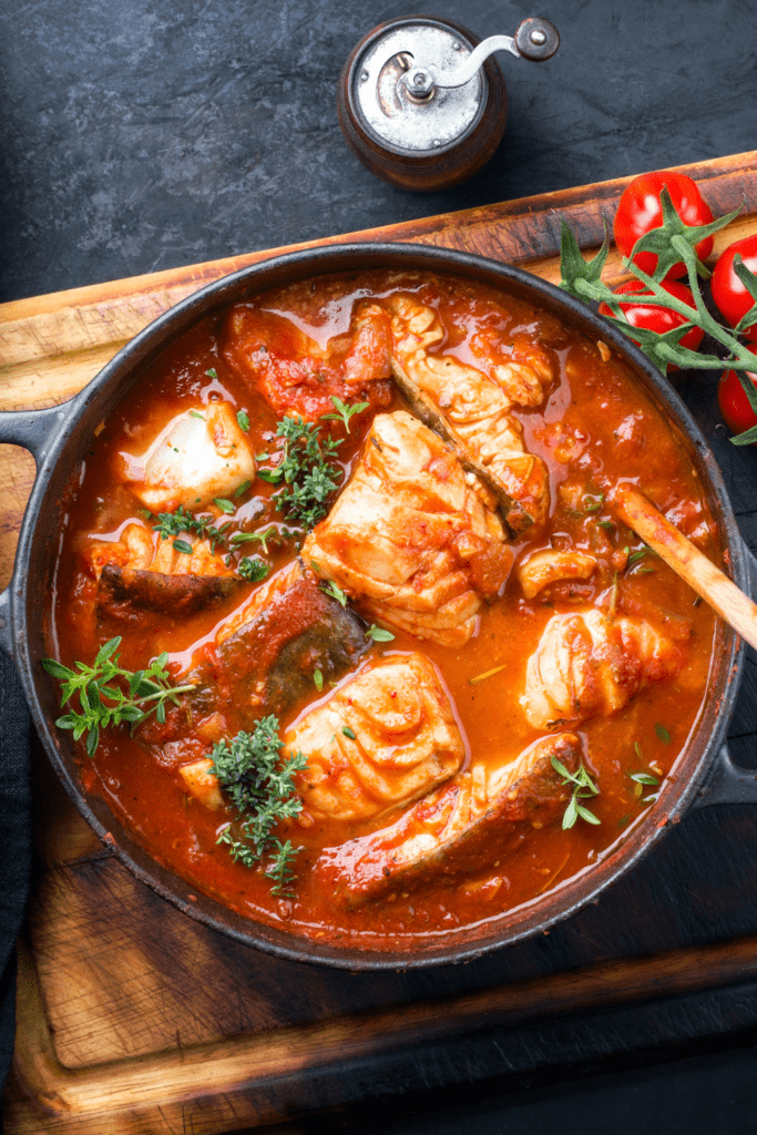 Fish Stew in Tomato Sauce