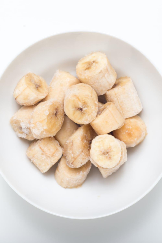 Frozen Sliced Bananas