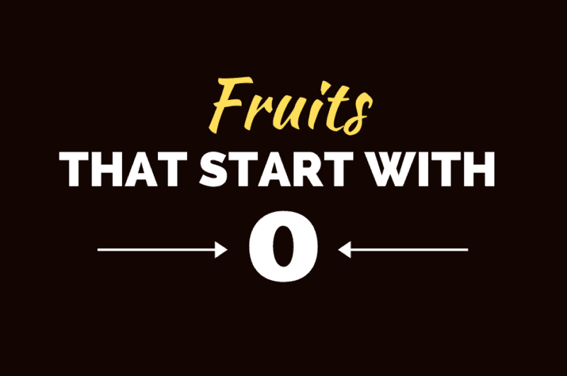 20 Fruits That Start With O