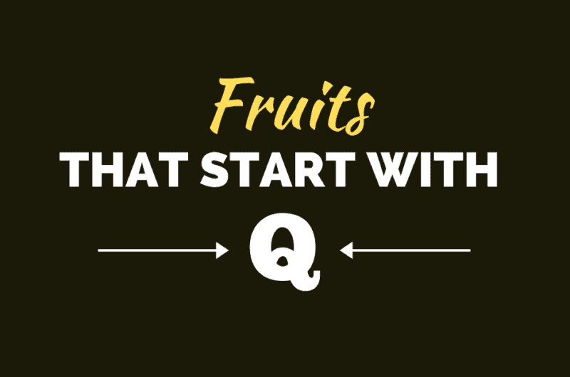 7 Fruits That Start With Q