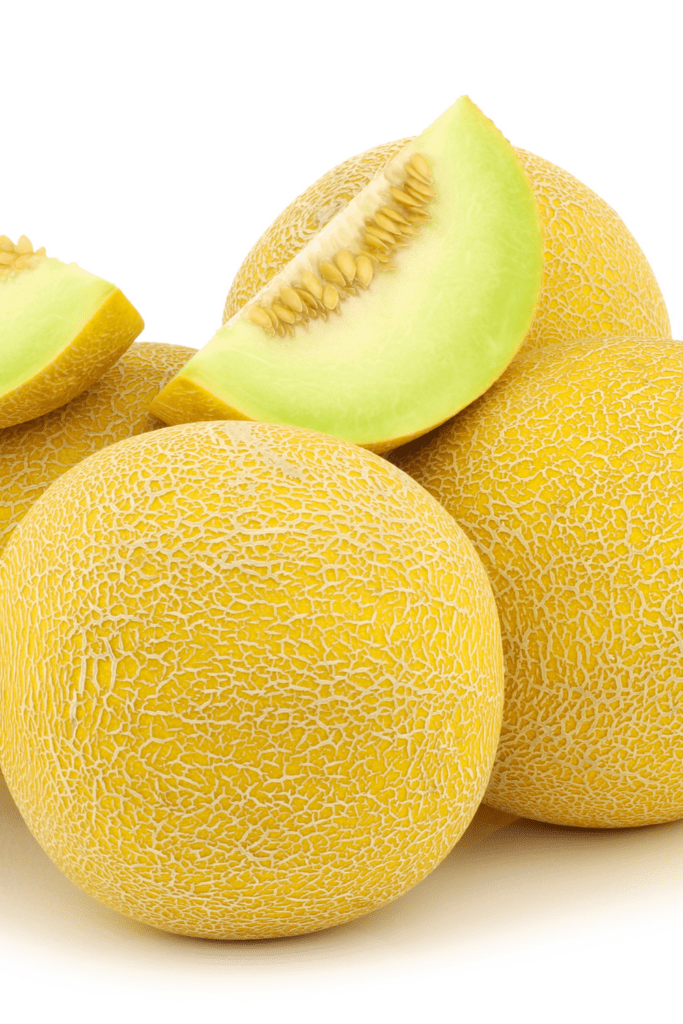 Yellow Galia Melons