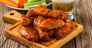 Homemade Buffalo Chicken Wings with Beer