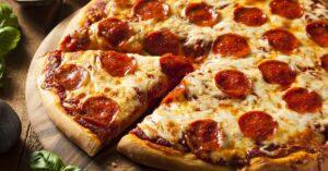 Homemade Cheesy Pepperoni Pizza