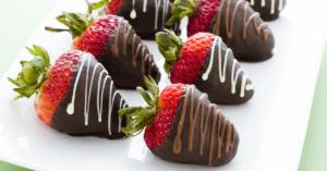 Homemade Chocolate Covered Strawberries