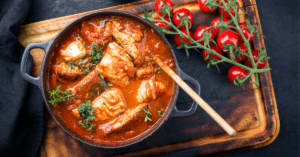 Homemade Fish Stew in Tomato Sauce