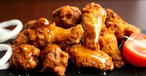 Homemade Honey Glazed Chicken Wings