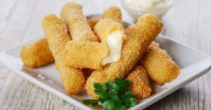 Homemade Mozzarella Cheese Sticks