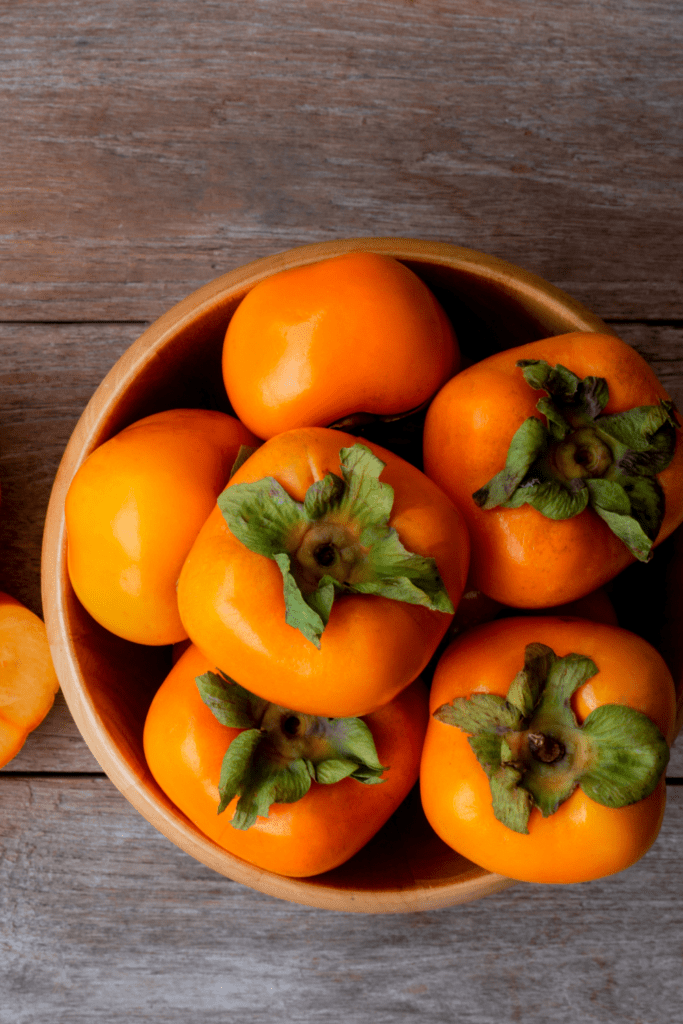 Japanese Persimmon Fruits
