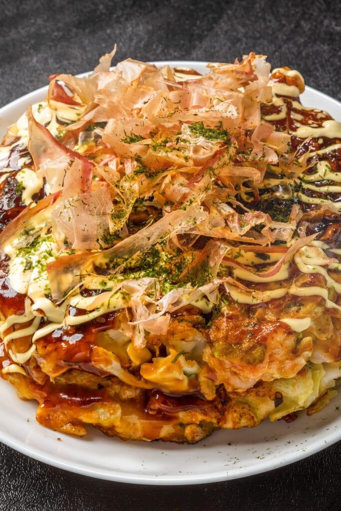 Japanese Style Pancake Okonomiyaki