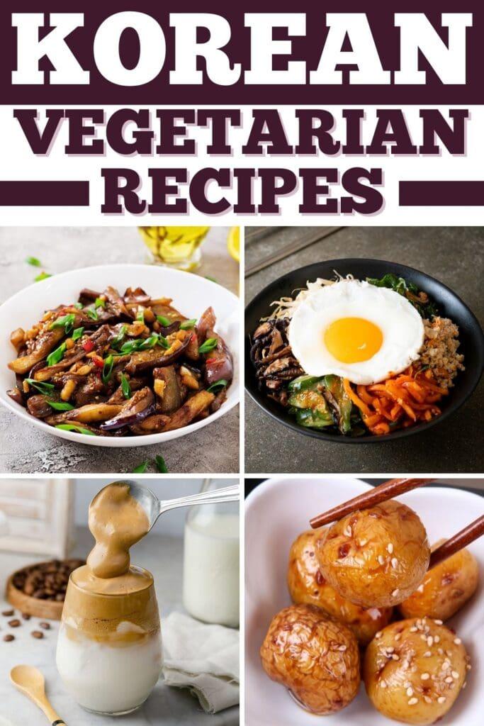 Korean Vegetarian Recipes