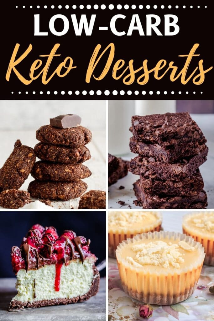 Low-Carb Keto Desserts