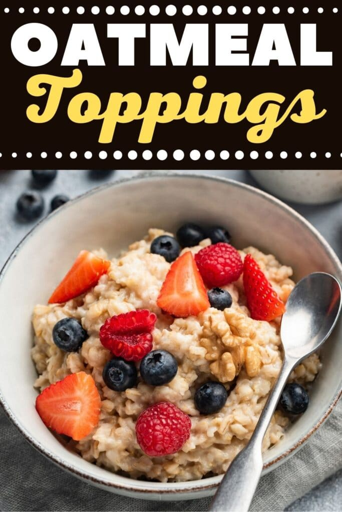 Oatmeal Toppings