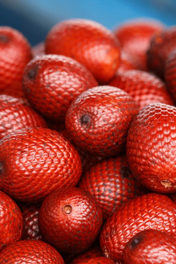 Red Aguaje Fruit