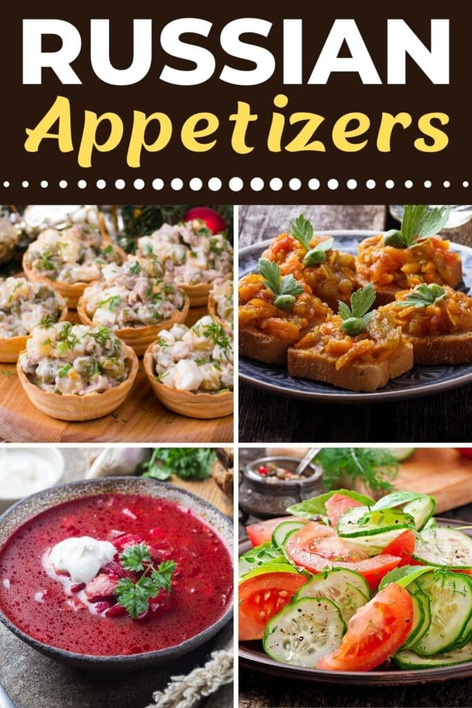 Russian Appetizers