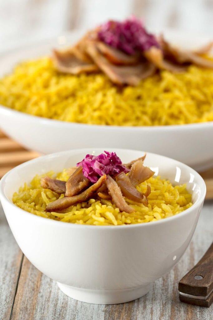 Saffron Rice Chicken