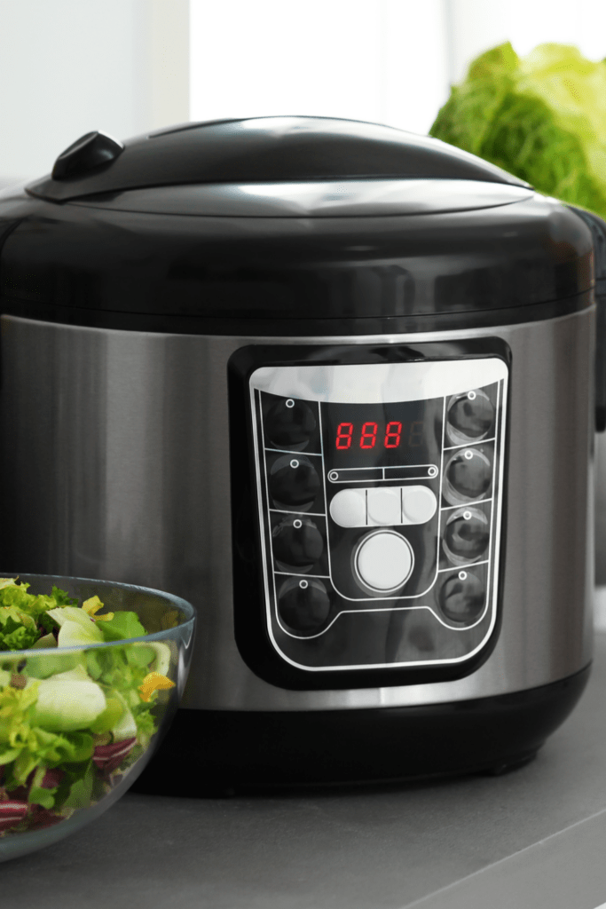 Slow Cooker in a Kitchen