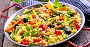 Spanish Vegetarian Paella