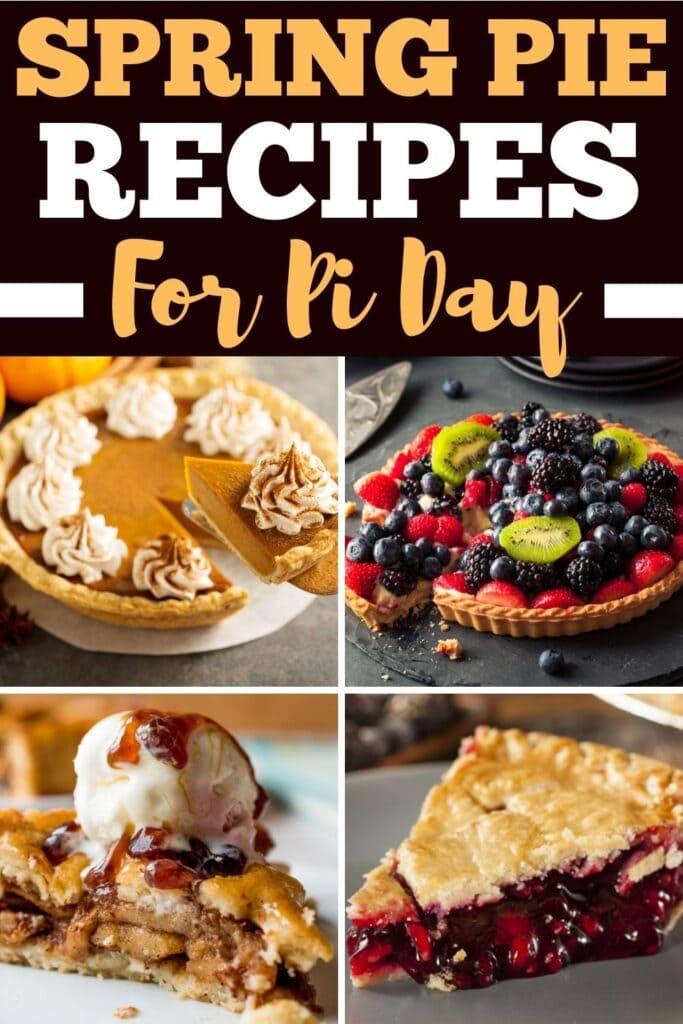 Spring Pie Recipes for Pi Day