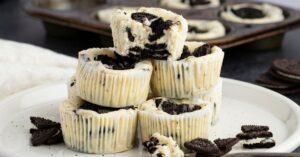 Sweet Homemade Oreo Cheesecake Bites