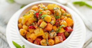 Vegetarian Stew with Chickpeas and Vegetables