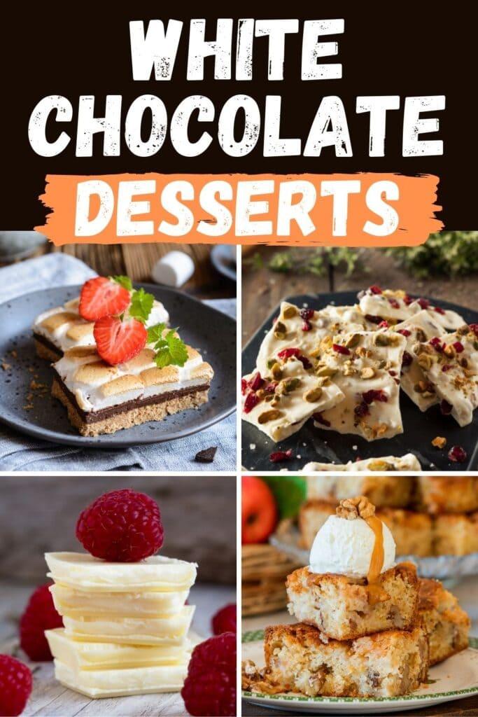 White Chocolate Desserts