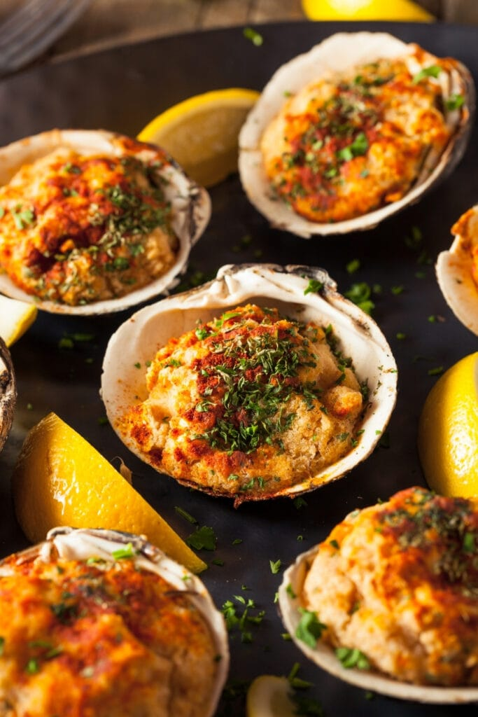 Baked Clams with Lemons