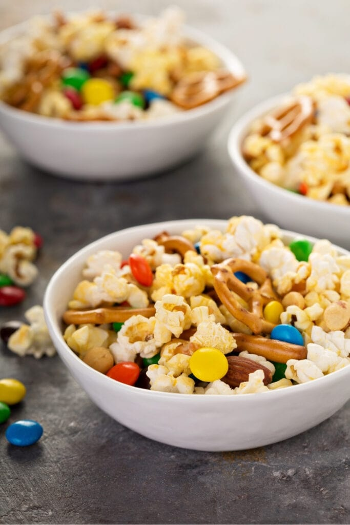 Bowl of Trail or Snack Mix