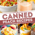 Canned Peach Recipes