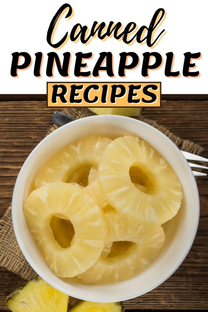 Canned Pineapple Recipes