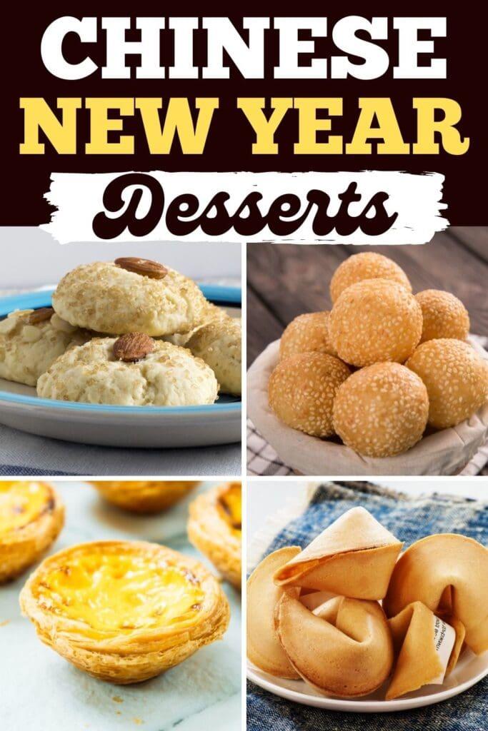 Chinese New Year Desserts