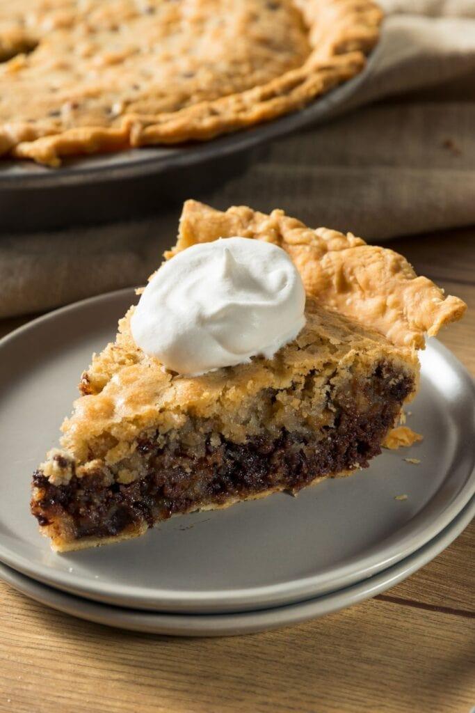 Chocolate Walnut Derby Pie
