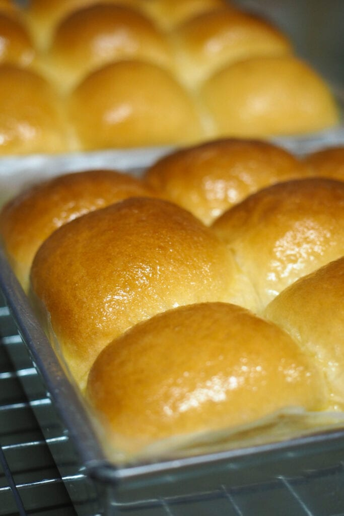 Condensed Milk Bread Rolls