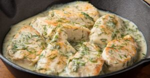 Creamy Chicken Fillet with Dill