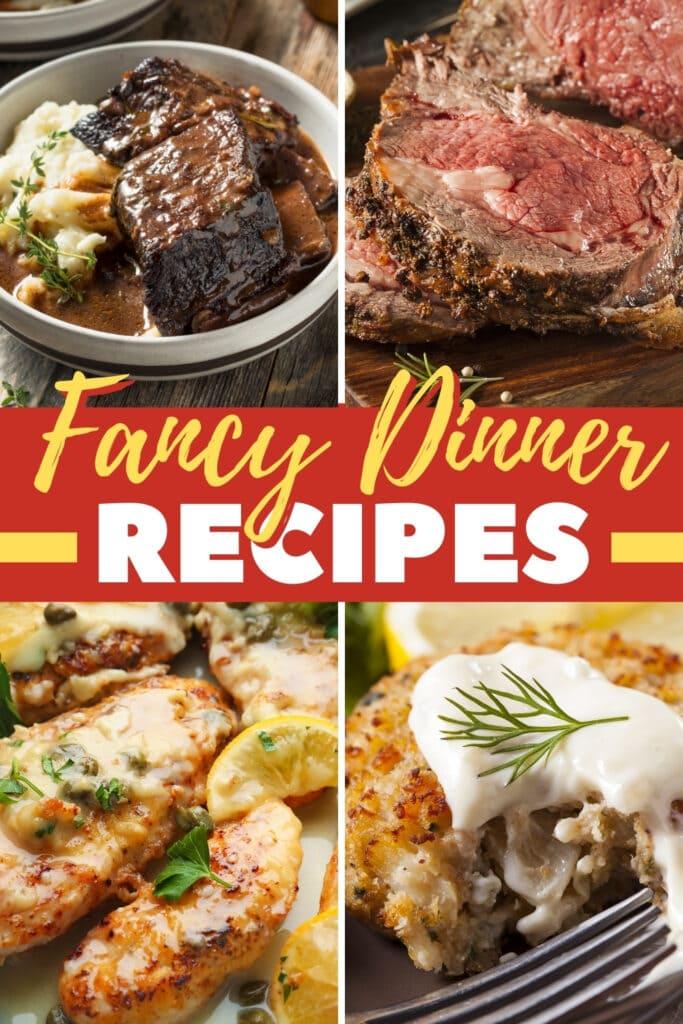 Fancy Dinner Recipes