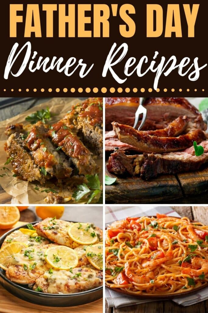 Father's Day Dinner Recipes