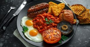 Full Irish Breakfast with Bread