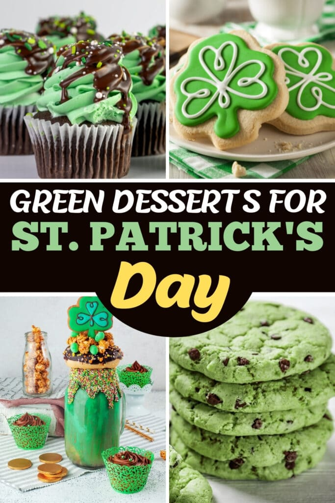 Green Desserts for St. Patrick's Day