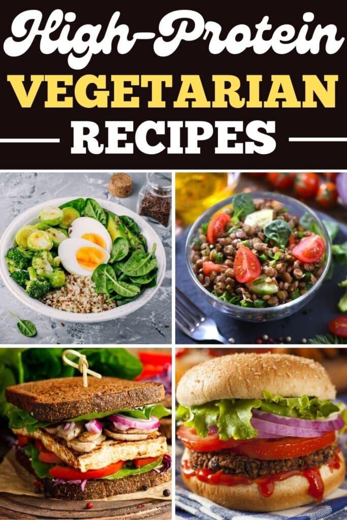 High-Protein Vegetarian Recipes