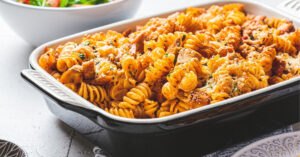 Homemade Amish Country Pasta Casserole