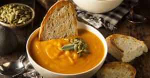 Homemade Butternut Squash Soup