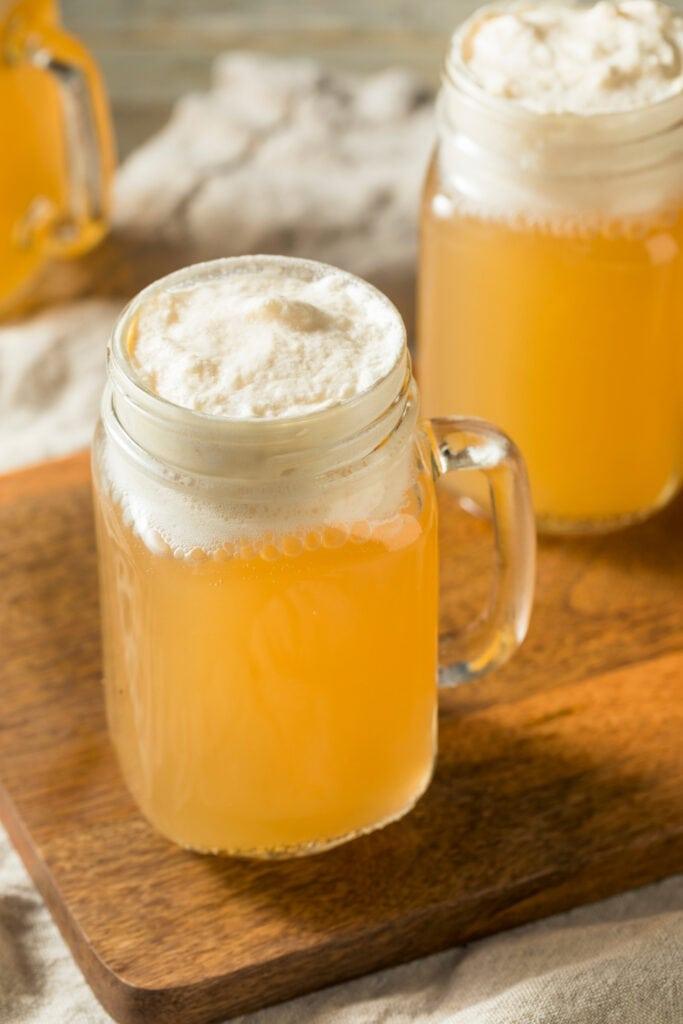 Homemade Butterscotch Butterbeer
